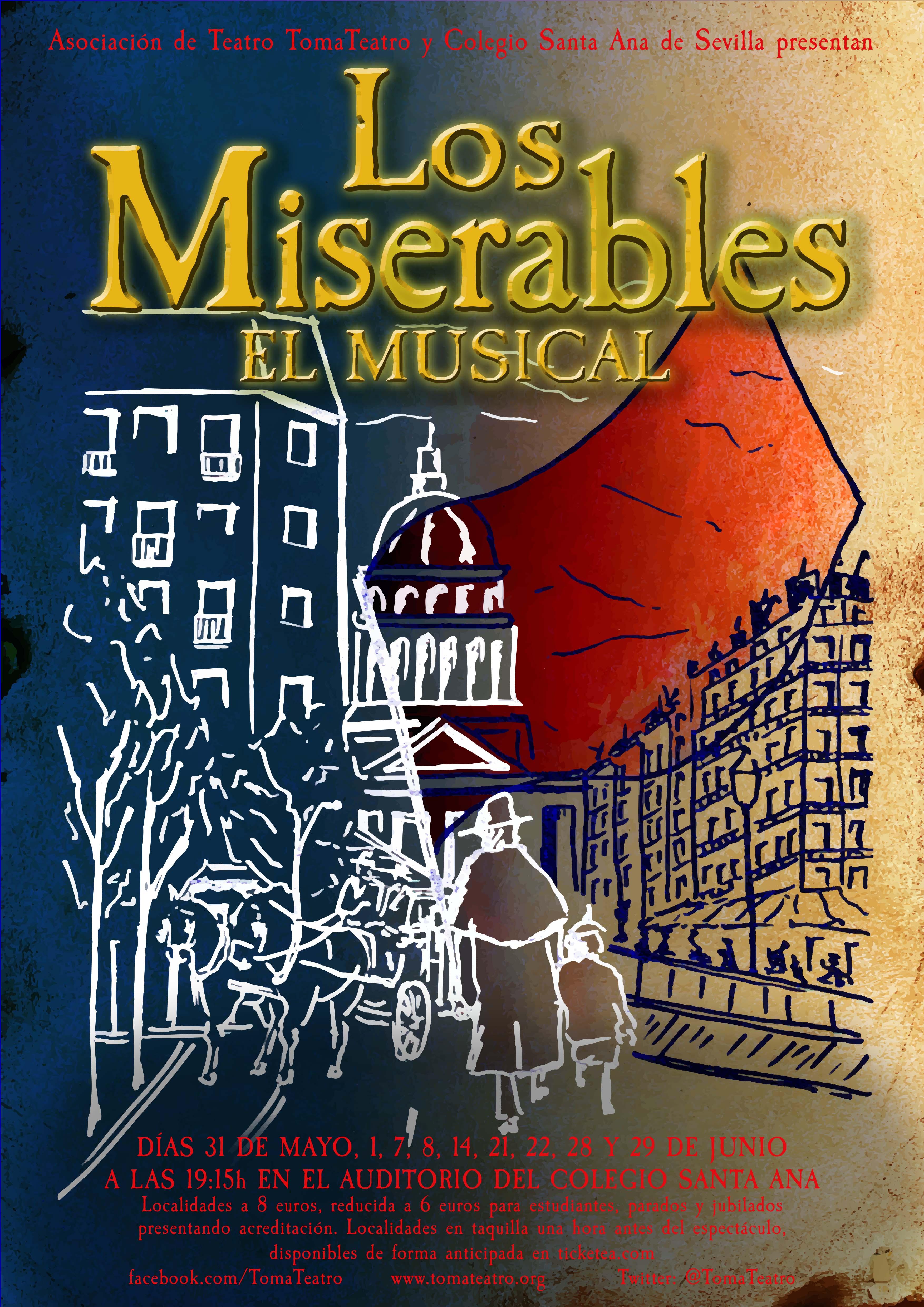 """""""Los miserables"""" Tomateatro, Sevilla/""""Los Miserables"""". Compagnia teatrale Tomateatro. Siviglia,Spagna."""