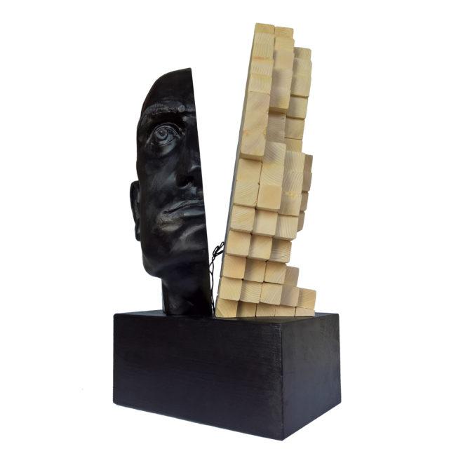 """17° Simposio internazionale di Scultura """"Luci ed ombre del legno 2018"""". Italia."""
