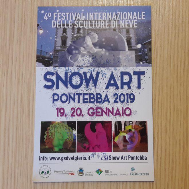 4°Festival internazionale di neve. Snowart. Pontebba.Italia.