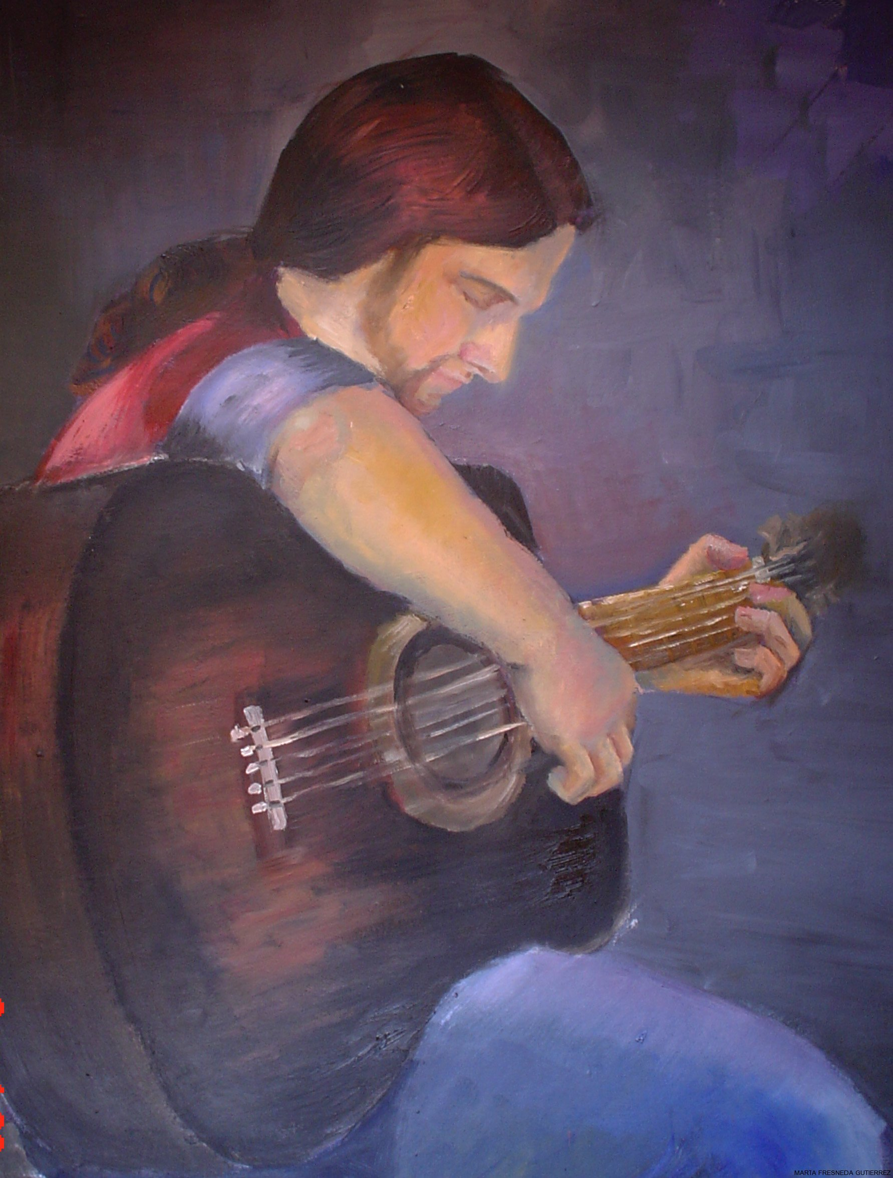 El guitarrista/Il chitarrista