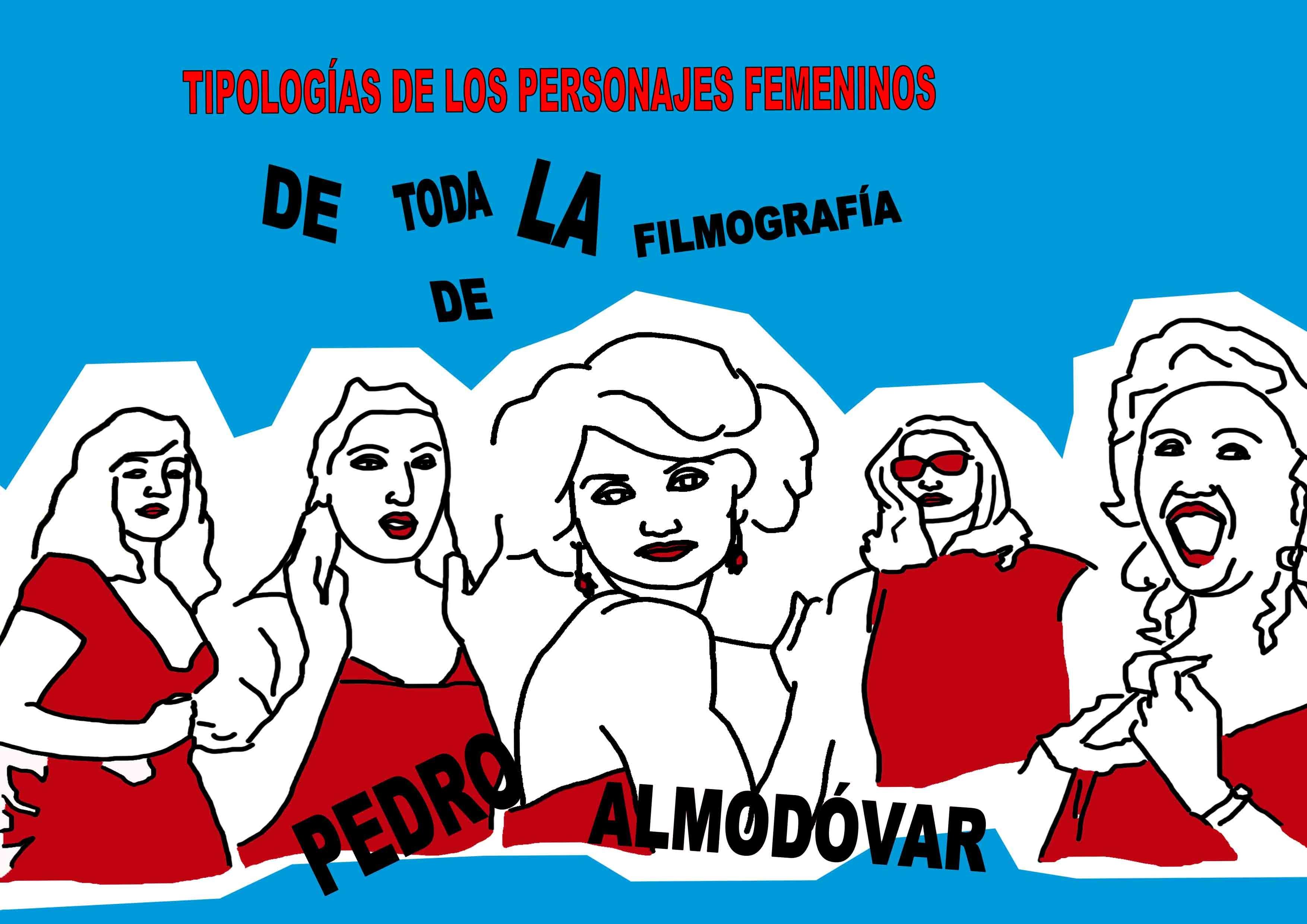 Ilustraciones tesis Almodovar/Illustrazione tesi Almodovar