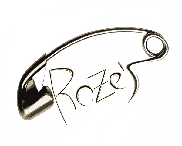 Logotipo negocio Rozes/Logo commerciale Roze's,Spagna